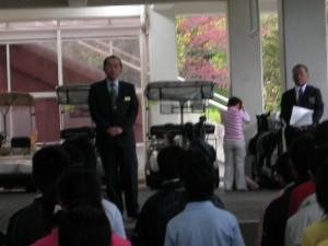 第4回兵庫県高等学校3支部合同ゴルフチャレンジカップが開催