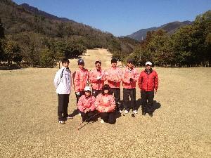 地元神崎高校の、ゴルフの授業です。