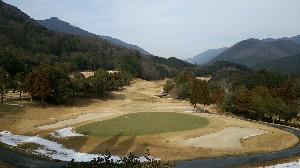本日の粟賀ゴルフ倶楽部